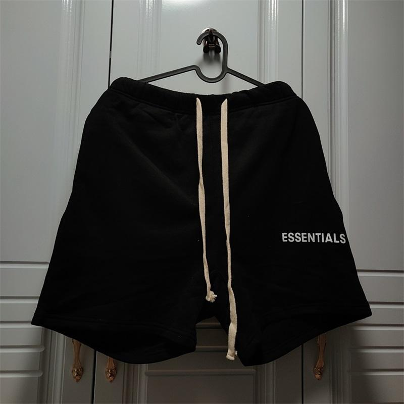 Algodão Nevoeiro Essentials Shorts Drawstring Cintura Elástica Homens Mulheres 11 Calções de Alta Qualidade Essentials Curto