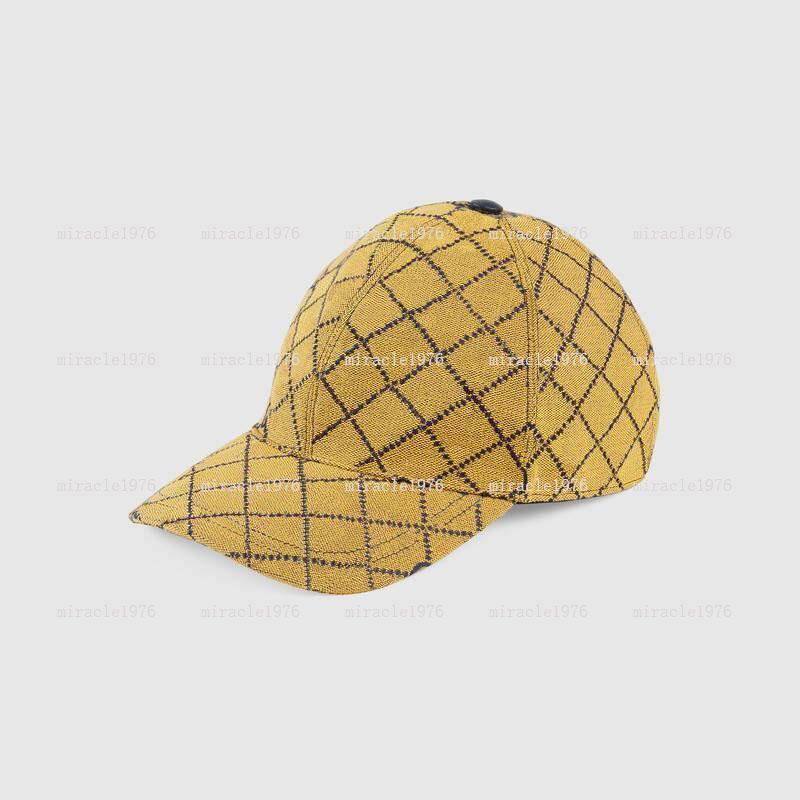 Бейсбольная кепка 6 Цветов Дизайнеры Шапки Шляпы Мужская Капретта Боженая Шапочка Женская Люкс Летний Пляж Sunhat Fedora Bucket Hat 2021