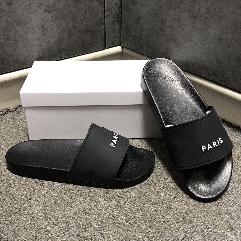 Mode Slide Sandalen Hausschuhe für Männer Frauen mit Original Box Hot Designer Unisex Beach Flip Flops Slipper 2021 Beste Qualität