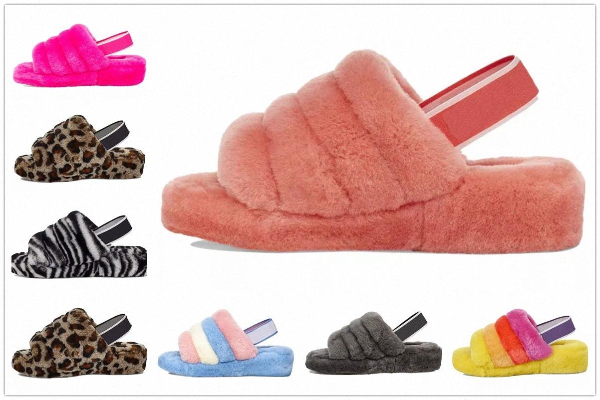 Superior Qualidade Xmas Mulheres Mulheres Botas de Neve Slipper Chinelos Furry Chinelos Confortáveis Designers Flip Flop Forma Luxo Slides Quarto M3H0 #