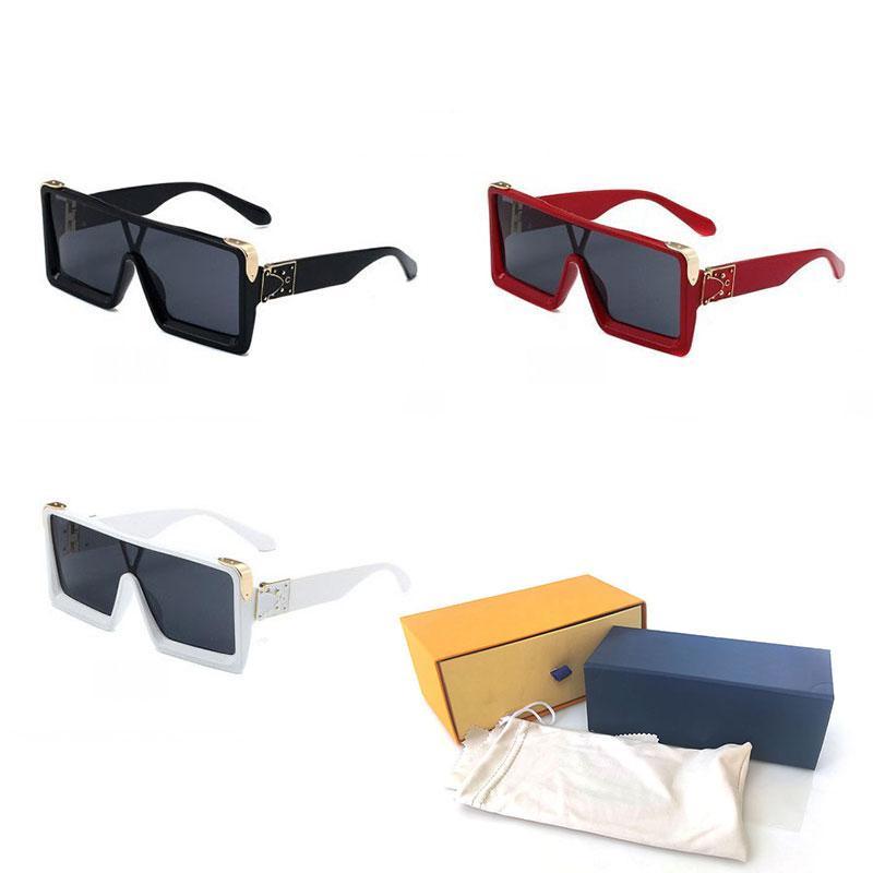 Top Quality Womans Sunglasses Fashion Mens Sun glasses UV Protection men Designer eyeglass Gradient Metal hinge Luxury women spectacles with Original cases box 831