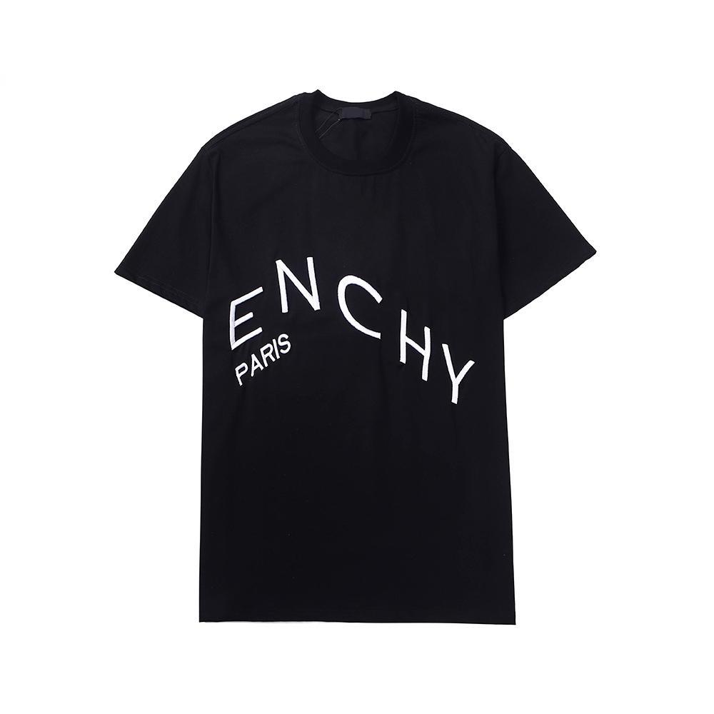 Hombre camiseta de verano camisas sueltas transpirables para hombres y mujeres Pareja diseñadores Hip Hop Streetwear Tops Tees lujosos