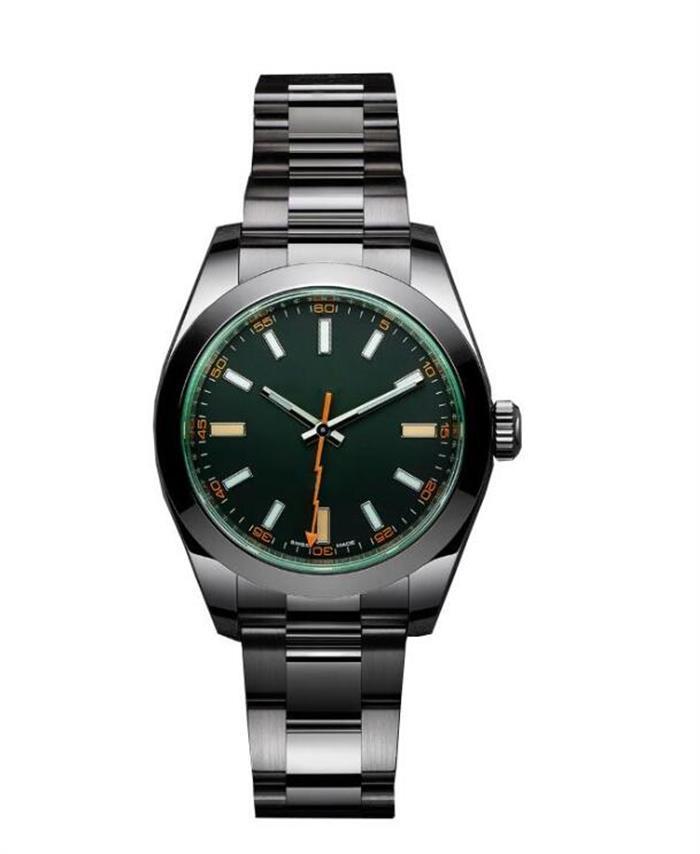 Роскошные автоматические механические часы 116400 мужчины из нержавеющей стали мужчины для водостойкие мужские наручные часы повседневные наручные часы