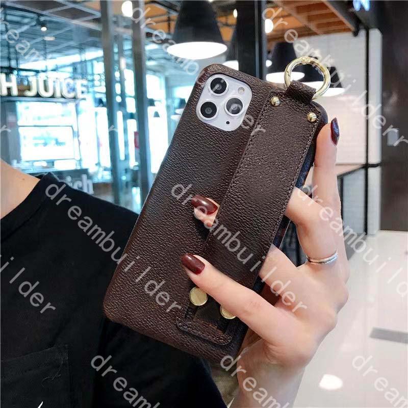 Модные чехлы для телефона для iPhone 12 Pro Max Mini 11 11Pro X XS XR XSMAX Shell PU кожаный дизайнер 11PROMAX 12PROMAX крышка