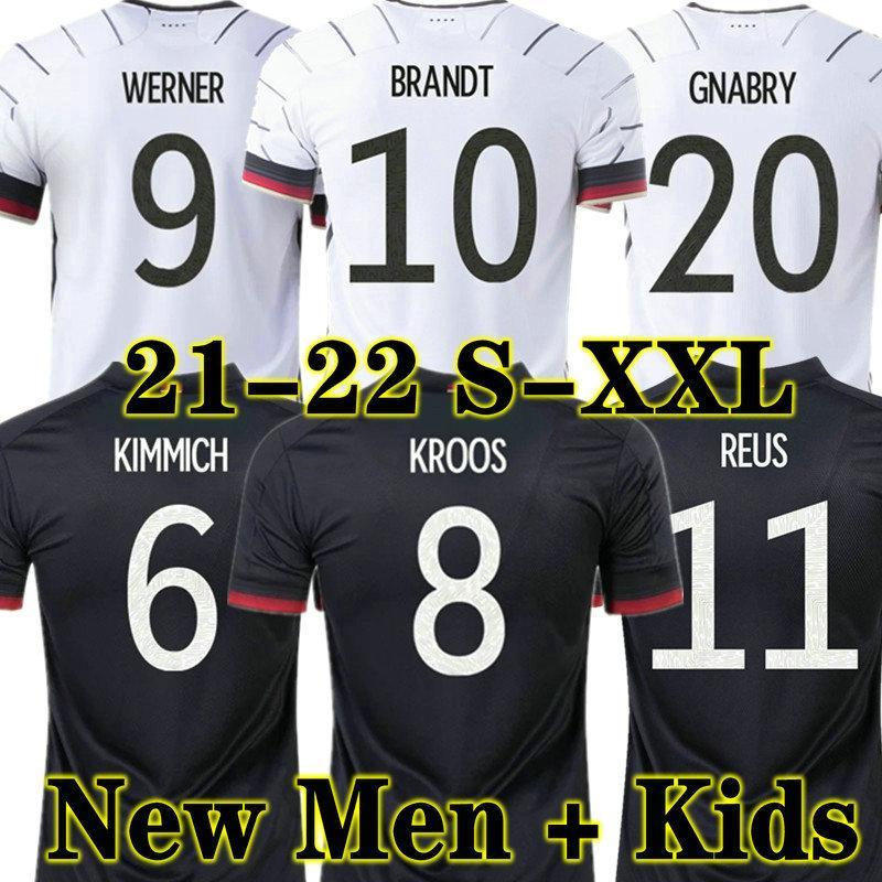 كروس 2021 2022 2022 ألمانيا لكرة القدم الفانيلة لاعب تاه جوندوجان ريوس غنابي فيرنر 21 22 كيميش مايلوت دي القدم لكرة القدم سان جوريتزكا يمكن أن Havertz الرجال + أطفال