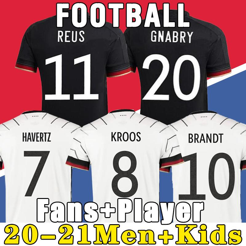 Germany 2021 soccer jersey Home kit HUMMELS KROOS DRAXLER REUS MULLER GOTZE European Cup football shirts uniforms men + kids kits