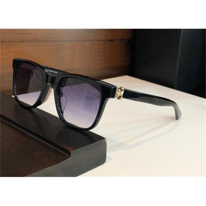 Vintage Fashion Design Sunglasses 8002 Classic Square Frame Gothic retrò stile pieno di occhiali protettivi UV400 di alta qualità