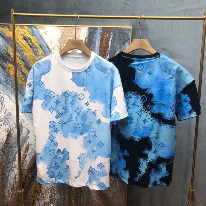 Na moda em torno do pescoço sem mangas colete colete colete layout solto All-Match masculino jaqueta de homens roupas de algodão neutro t-shirt de mangas curtas 687A