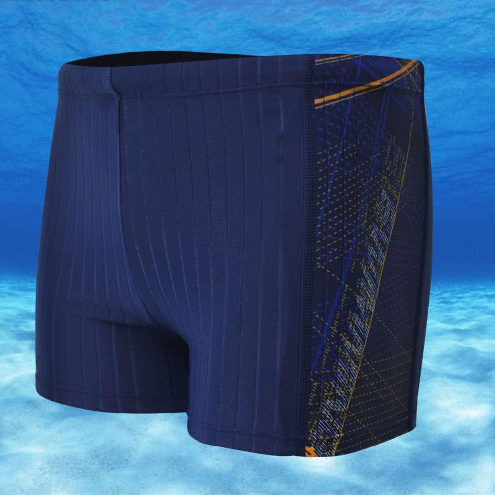 Swimwear Swimsuit Digital Impresso Troncos / Natação Masculina /