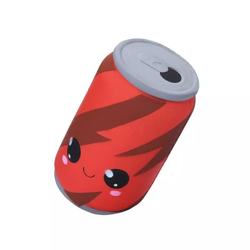 Dekompression Spielzeug Jumbo Squishies Niedliche Cola Dosen Cups Milch Sahne duftende langsame steigende Charme Spielzeug langsam steigende Squeeze Toys Zze5258