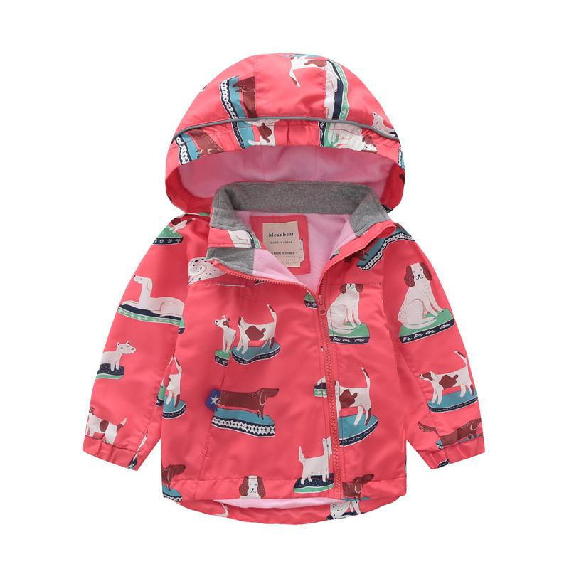 New 2021 brand girls small windproof coat charge garments children coats / jackets fashion baby girls coat autumn winter wear