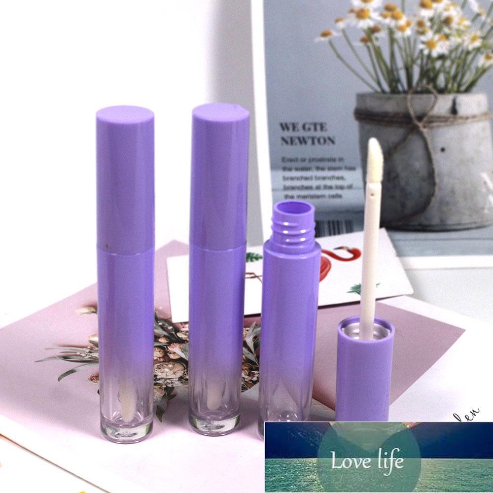 30 ADET 4 ml Mor Boş Dudak Parlatıcısı Tüpler Kozmetik Lipgloss Konteyner Ile Değnek Toplu