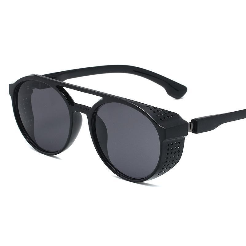 نظارات شمسية كلاسيكية خمر جولة للنساء أزياء العلامة التجارية مصمم نظارات الرجال عدسة الملونة الشمس gafas دي سول موهير
