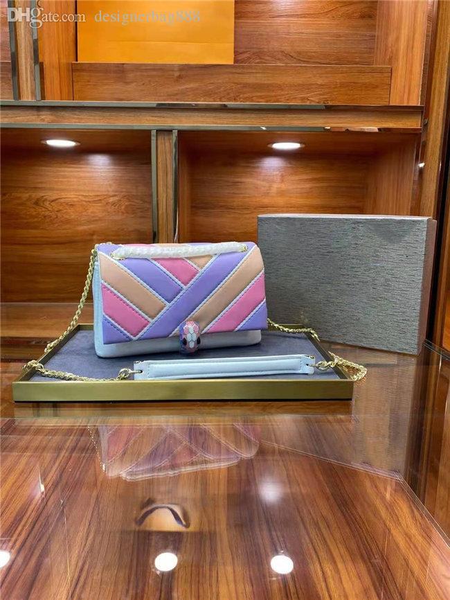 Moda All-Match Special Style Bag 2021 Bolsos de calidad de lujo de las mujeres Bolsos de hombro Messenger Bolso Tela de piel de becerro Una variedad de colores están disponibles