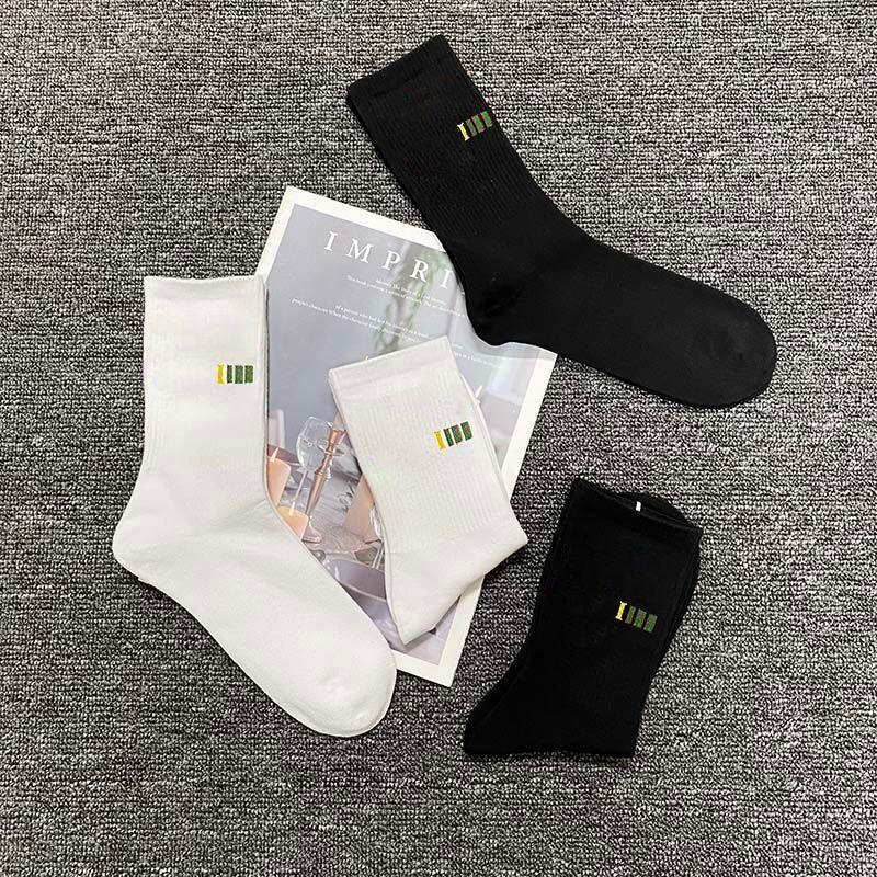 Mens Moda Moda Meninos Active Running Sports Sock Hiphop 21ss Streetwear 2 Cores para Atacado