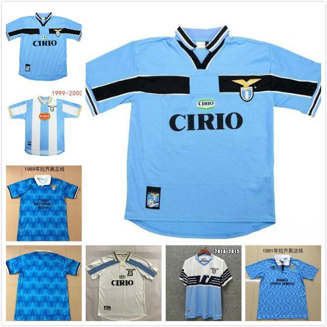 1991 1992 Lazio Retro Versiyonu 1999 2000 1989 Futbol Forması 91 92 99 00 İmmobil Sergej Salas Mihajlovic Veron Stankovic Futbol Gömlek