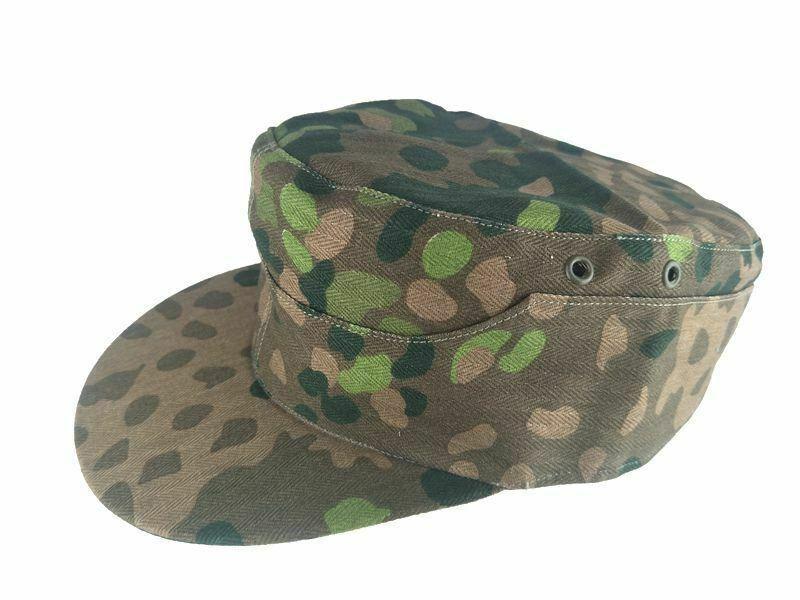 독일어 엘리트 도트 44 카모 필드 모자 군사 모자 세계 가게 야외 모자