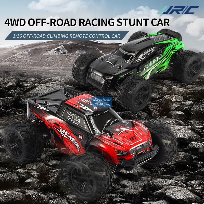 JJRC Q122 2.4G Пульт дистанционного управления, восхождение от Road Car Kid Toy, 4WD 1:16 Big Tire Monster Truck, высокая скорость 36 км / ч, с четырехколесной подвеской, рождественский мальчик подарок, 2-1