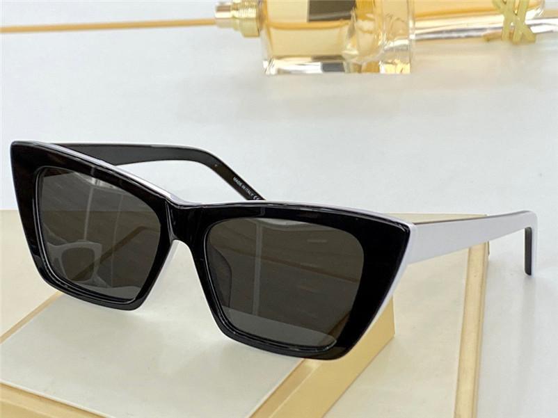 276 Mode Sonnenbrille Sommerkatze Eye Style Gradient Objektiv UV 400 Schutz Für Frauen Vintage Square Planke Frame Top Qualität Kommen Sie mit Case Klassische EyeGlasse
