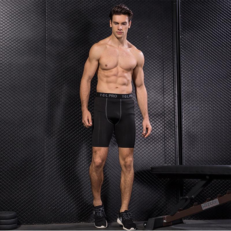 Abiti da yoga Design Design Sport da uomo Pro Fitness Apparel Running Tight Tight Shorts Quick Dry Plus Size Activewear Abbigliamento per maschio