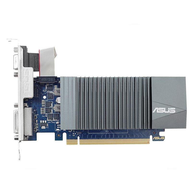 ASUS GT710 1G освещает графические карты полутора высоты небольшой шасси яркий аппарат HALD HD MUTE Office поддержка XCH (CHIA) добыча глобальная гарантия, заводская отправка, на заказ