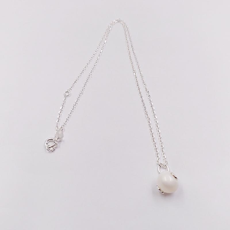 Autentico 925 ciondoli in argento sterling 925 argento dolci bambole collana adatti regalo di stile europeo di gioielli orso 517094500