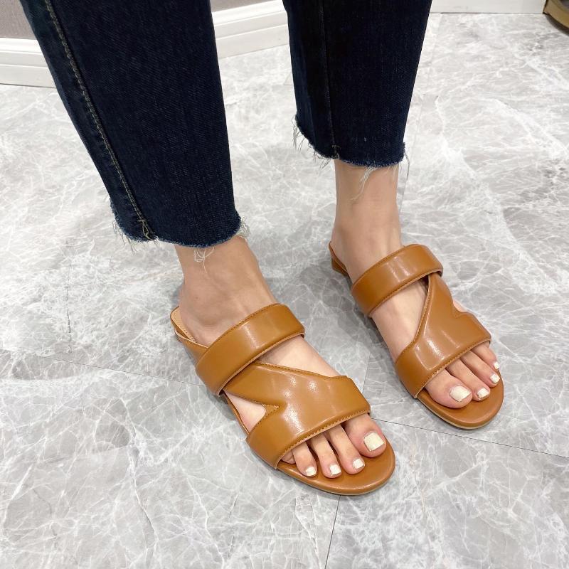 Плоские каблуки весенние летние тапочки женские туфли сексуальные женщины сандалии
