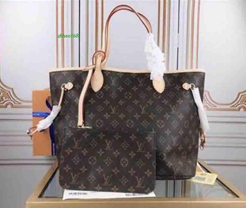"GG""LV""Louis…Vitton YSL…VUTTON Women Shoulder Bags Crossbody Montaigne Leather Flower Pink lining Handbag Tote Messenger Purses Composite Bag D40156"