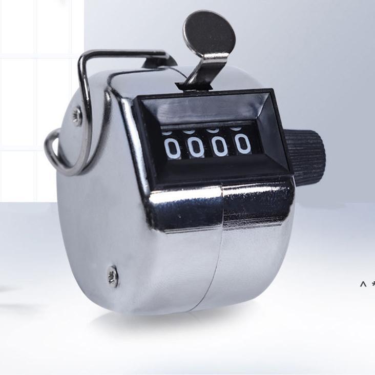 4 basamaklı numara Mini El Tally sayacı dijital golf tıklama manuel eğitim sayma max. 9999 Sayaç Toptan BWF5929