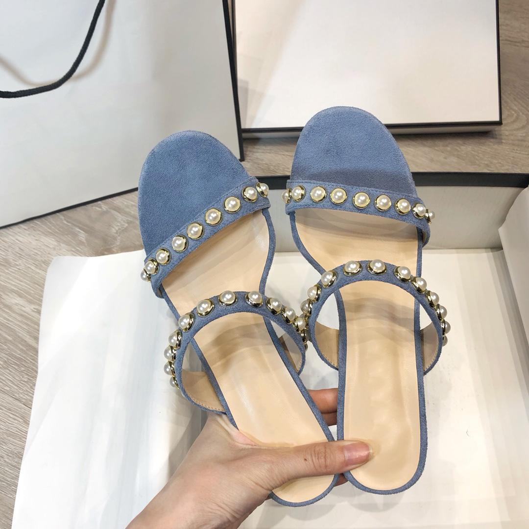 2021 фея жемчужина со словом обувь ветер сексуальные дамы тапочки 6 см Высокие 34-42 ярдов