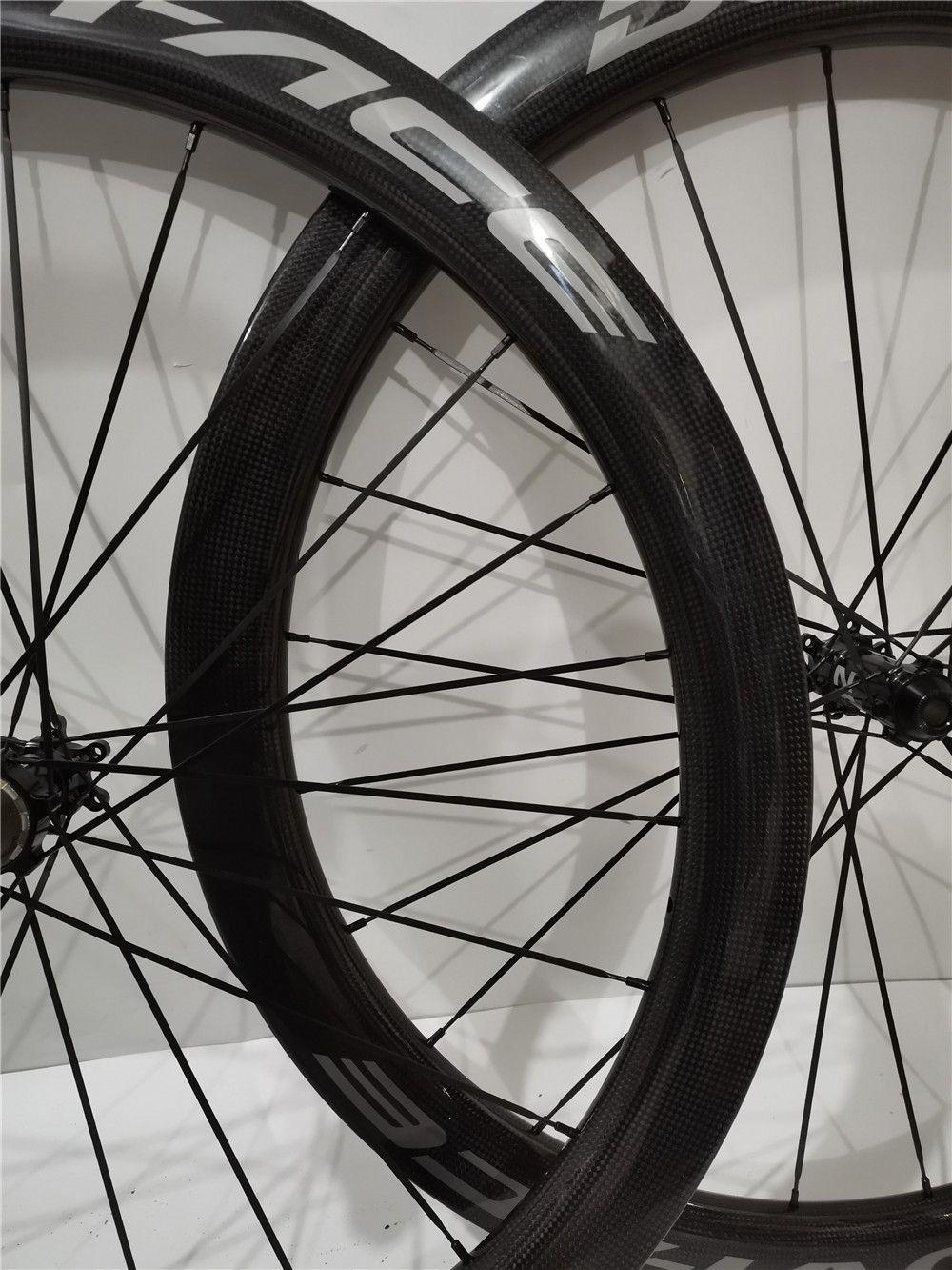 فائقة ضوء الكربون عجلات dt240 مركبات DT240 1432 المتحدث 700C الطريق دراجة قرص الفرامل العجلات 2 سنوات الضمان