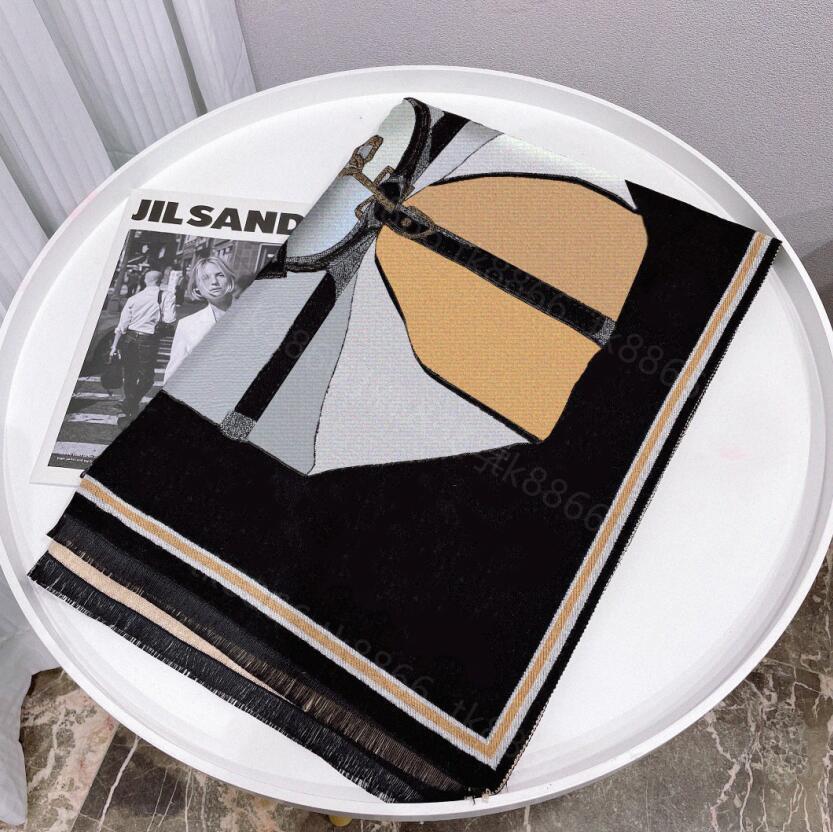 bufanda de cachemira con caja de alta calidad scarfs de cuadrícula clásico regalo senior cómodo otoño e invierno mantén cálido moda lujo multicolor top1