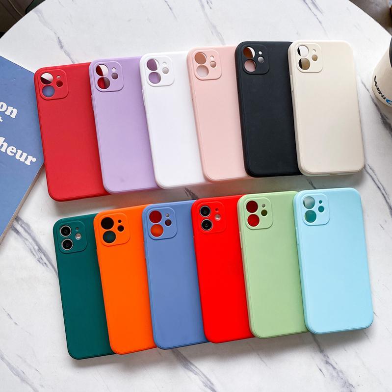 Caixa de telefone tpu fosca de furo de buraco precisa é apropriado para iphone 11 12 pro mini x xs max 6 6 s 7 8 mais