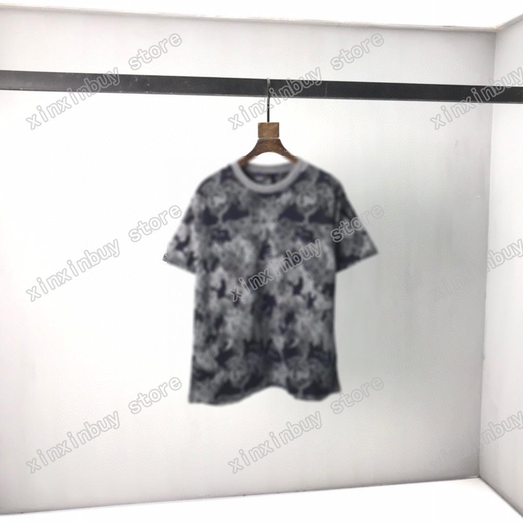 2021 Designers Mens Womens T Camisetas Polo Jacquard Weave Homem Paris Moda T-shirt Top Qualidade T-shirt Rua Manga Curta Luxurys Camisetas Preto Branco