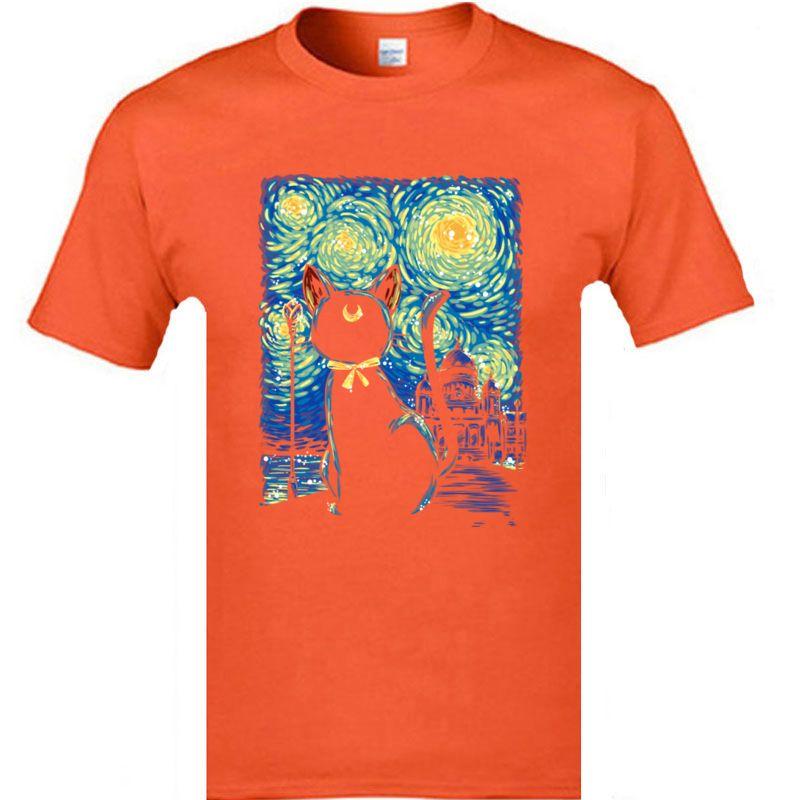 CCCCSPORTSTARRY NUCTURY GAT ARTE ESTETICA ARTE NEGRO TSHIRTS 2019 Nueva llegada O-cuello cómodo camisetas para hombre Vintage tee shirt Drop Shipping