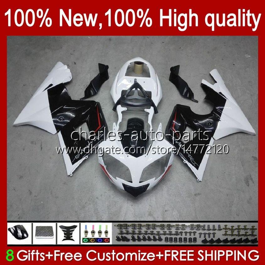 Zestaw nadwoziowy dla Triumph White Black Daytona 600 650 CC Daytona650 02-05 Cowing 104HC.27 Daytona600 2002 2003 2004 2005 Bodys Daytona 600 02 03 04 05 Pełne wróżki