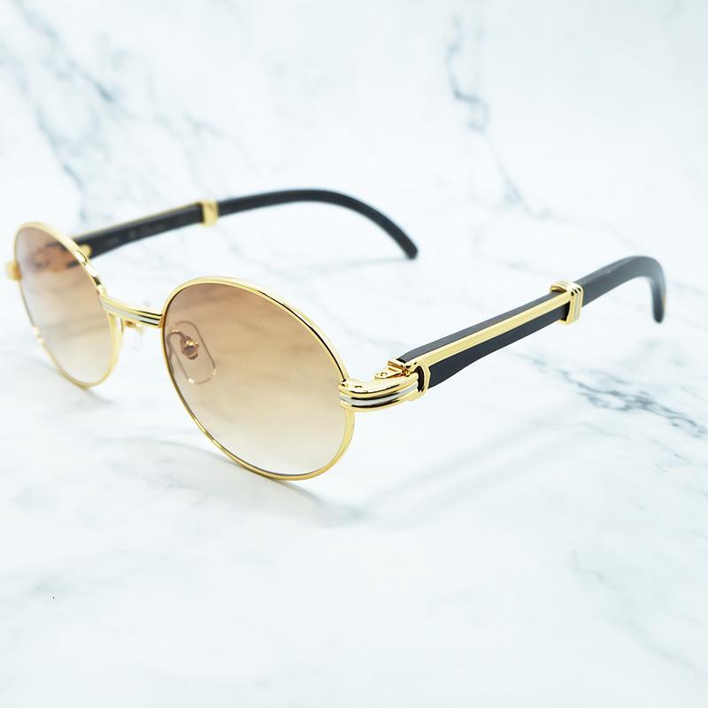 2021 Мужские Солнцезащитные очки Ретро Овальные Солнцезащитные Овальные Солнцезащитные Очки Мода Трендальный продукт Препарат Десингер Картер Глаз Очки Gafas de Sol Hombre