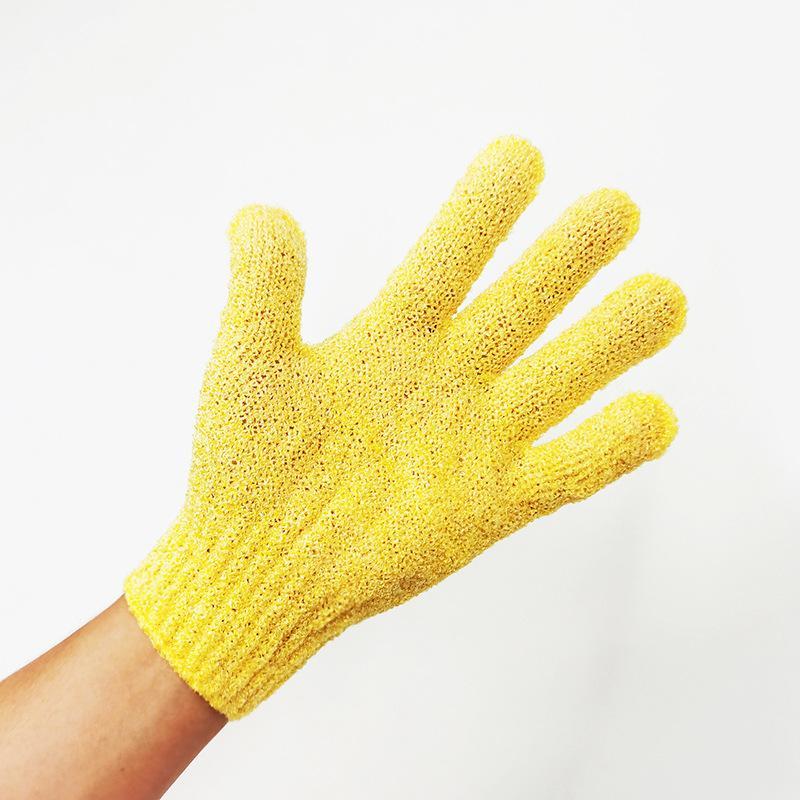 1pc Skin Bath Shower Wash Cloth Shower Scrubber Back Scrub Exfoliating Body Massage Sponge Bath Gloves Moisturizing Spa Skin Cloth 2139 V2