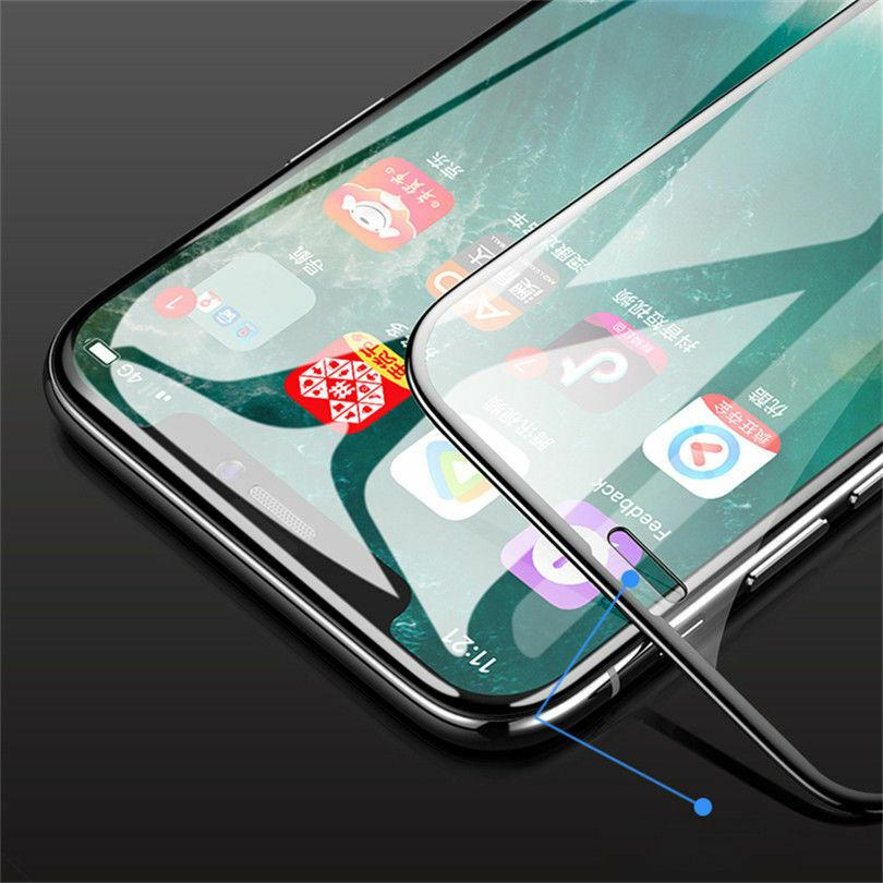 5 PCS For OnePlus 7T 6 6T Full Coverage Tempered Glass Screen Protector Film