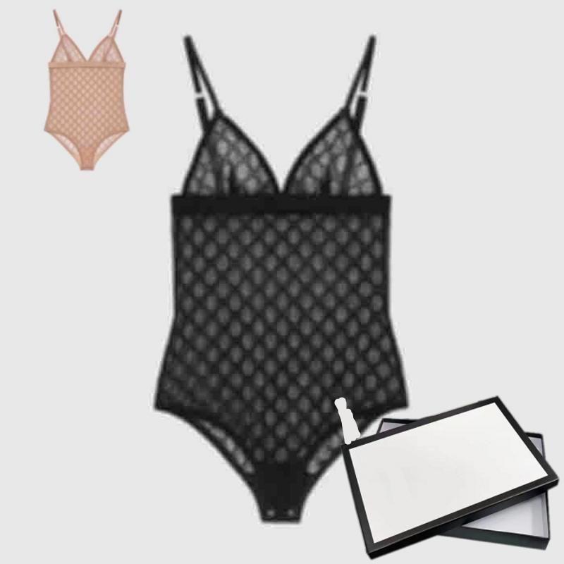 2021 İlkbahar Yaz Yeni Pijama İtalyan Bikini Jakarlı Çift Mektuplar Baskı Bayan Mayo Yüksek Kaliteli Bikini Gökkuşağı S-XL Tops