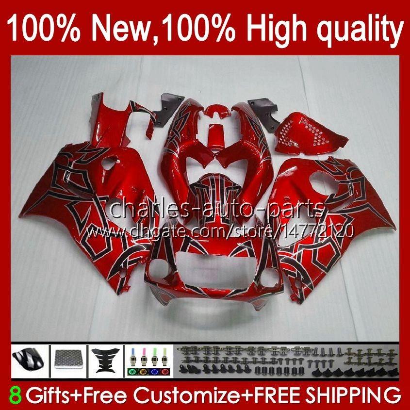 Karosseri kit för SUZUKI SRAD GSXR 600CC 750cc 750 600 CC 96-00 BODY 22NO.18 GSXR-750 GSXR600 1996 1997 1998 1999 2000 GSXR750 GSX-R600 96 97 98 99 00 Fairingt Pearl Red
