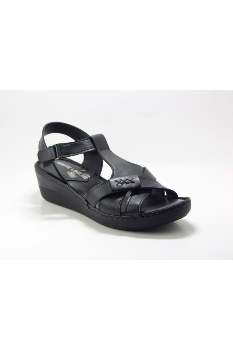 Sandals 7784 Women's Sandals-Black