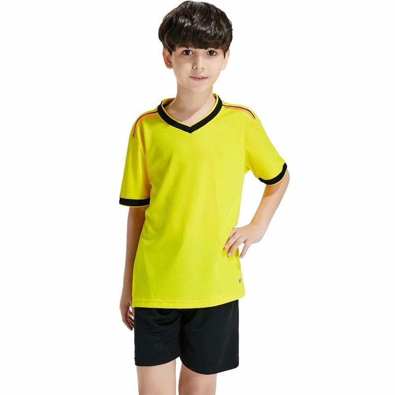 Los camisetas de fútbol de los niños de alta calidad establecen los kits de fútbol de sobrevetemento de los camisetas de fútbol de secado rápido de la formación de uniformes baratos conjuntos personalizados