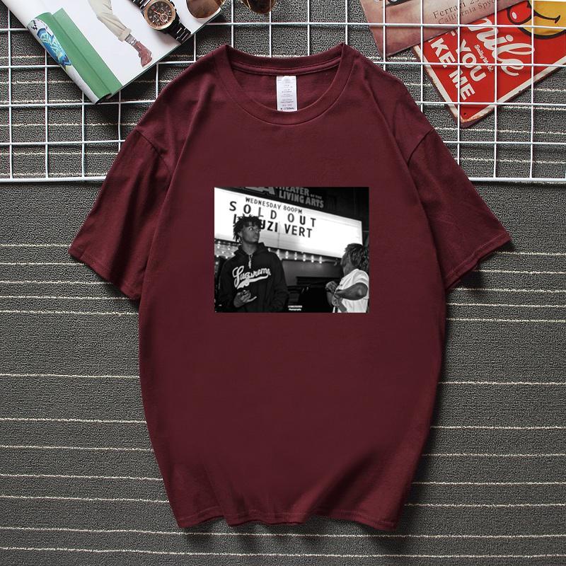 Playboi Carti Vintage Cool Graphic T-shirt Casual Hommes T-shirt Nouveau TEE Fashion Capeur Musique Hip Hop Coton T Shirts Streetwear