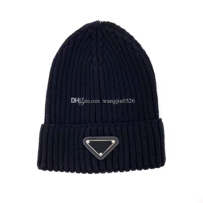 Lettera classica di alta qualità Cappellini a maglia a maglia per gli uomini Donne autunno inverno inverno caldo spessore ricamo ricamo cappello freddo coppia moda cappelli di strada