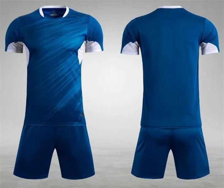 0185 Hommes Football Shirt Kits de football Jersey Taille adulte Taille à manches courtes Ensemble de jogging Tracksuit Set