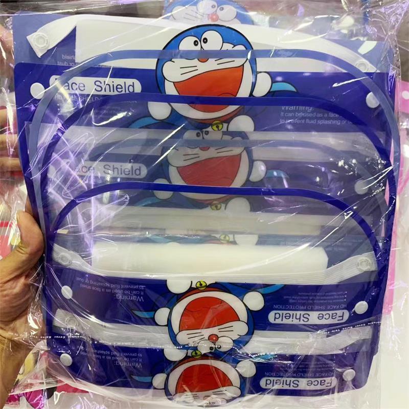 Factory1fqxoil-splash 2020 защита детей защита детей защитная многофункциональная маска детей доказательство прозрачный крышка пылезащитный щит
