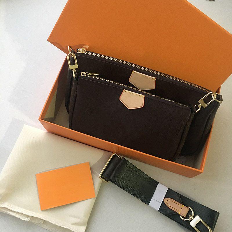 Luxusmarke Designs Frauen Handtasche Hobo Geldbörse Großhandel 4A M44813 Top Qualität Rindsleder Umhängetaschen Triad Mahjong Paket Kommen Sie mit Box