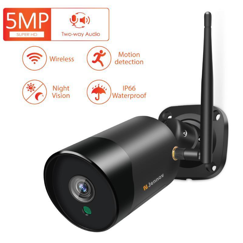 IP Kamera Kablosuz Wifi Güvenlik Metal H.264 P2P ONVIF Açık Kamera İki Yönlü Ses CCTV Sistemi Kameraları