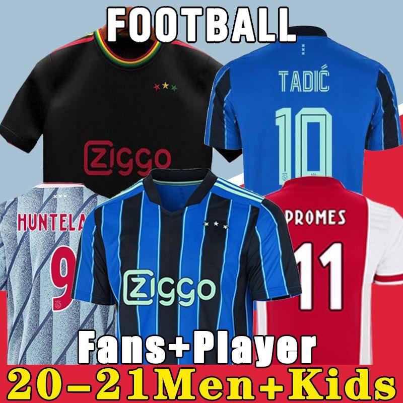 20 21 AJAX amsterdam camiseta de fútbol FC 2020 2021 KUDUS ANTONY BLIND PROMES TADIC NERES CRUYFF hombres niños kit camiseta de fútbol uniformes tercero 50o